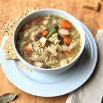 chicken noodle soup 3