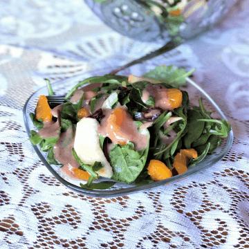 Salad With Cranberry Vinaigrette