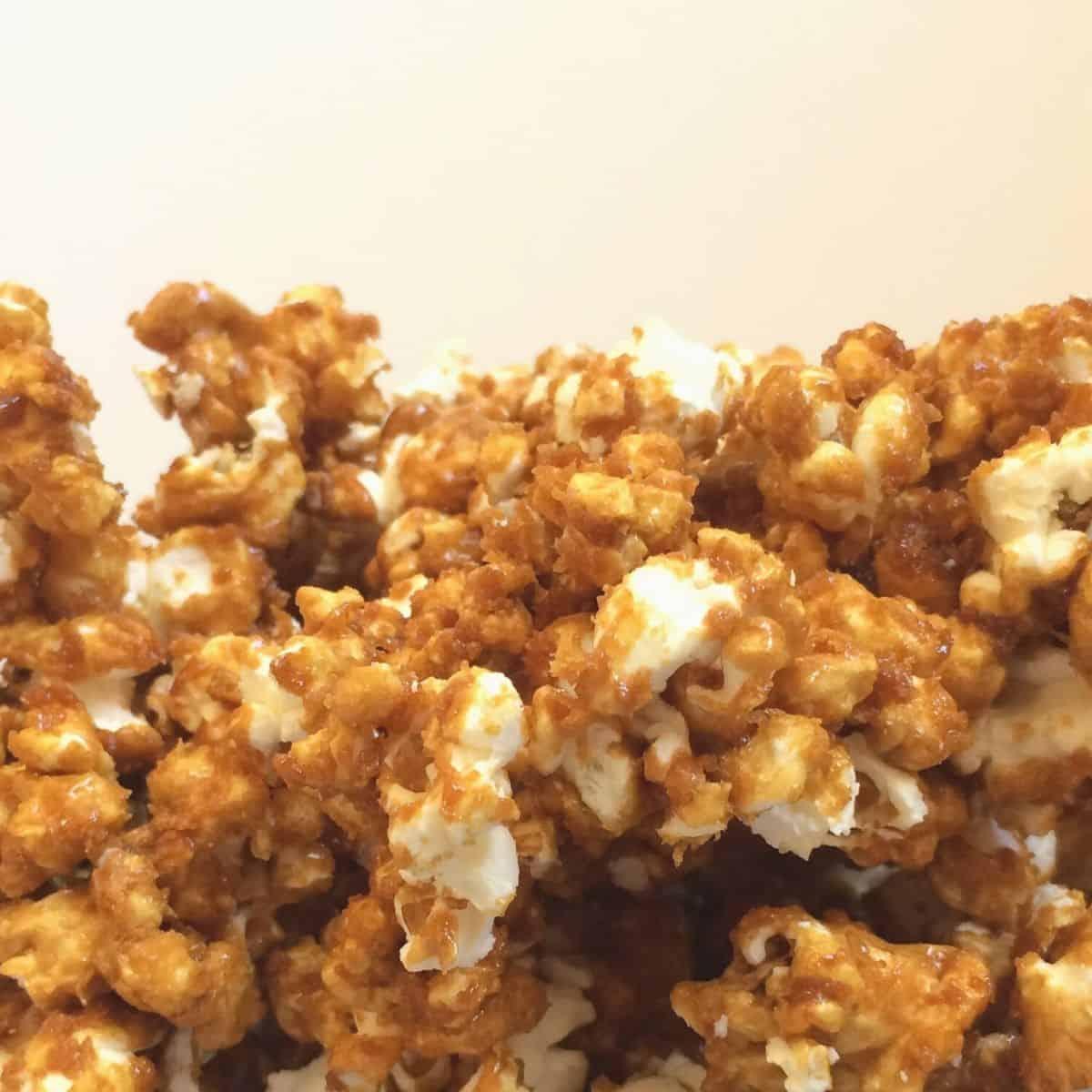 Allergy Free Caramel Corn