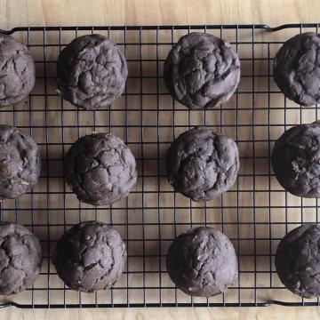 Allergy Free Chocolate Zucchini Muffins