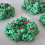 allergy friendly corn flake wreaths