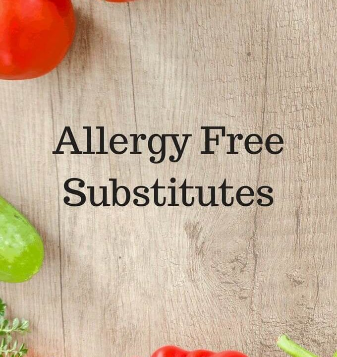 Allergy Free Substitutes
