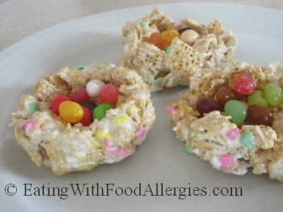 Allergy Free Cereal Bar Birds Nests