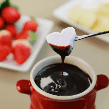 dairy free chocolate fondue