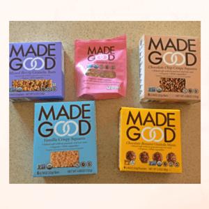 Made Good Allergy Friendly Snacks