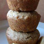 wheat free banana bread muffins