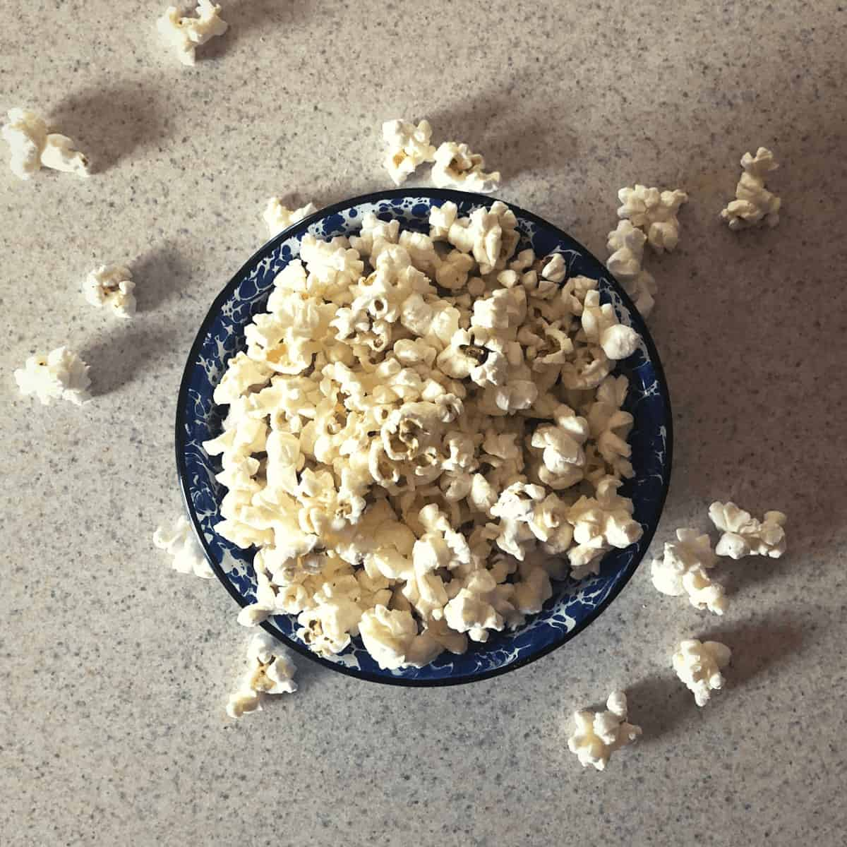 dairy free microwave popcorn