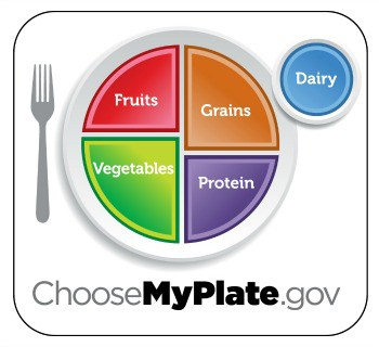 MyPlate meal planning template