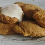 gluten and egg free pumpkin cookies