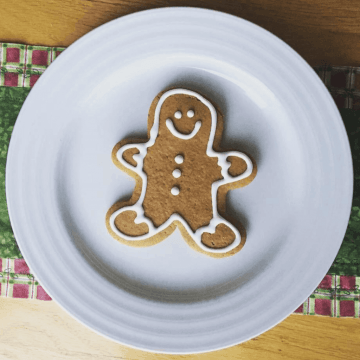 allergy free gingerbread cookies