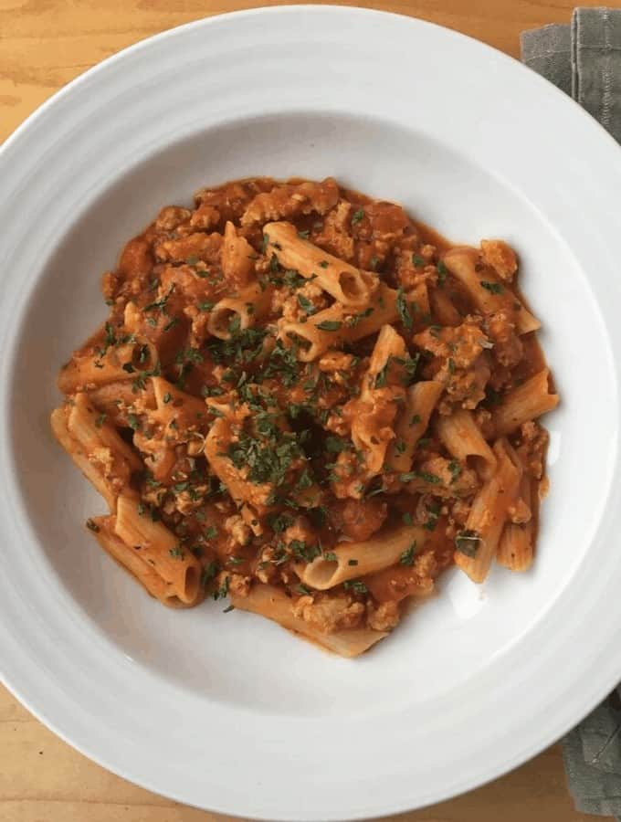 Allergy Friendly Instant Pot Pasta