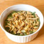 Allergy friendly green bean casserole