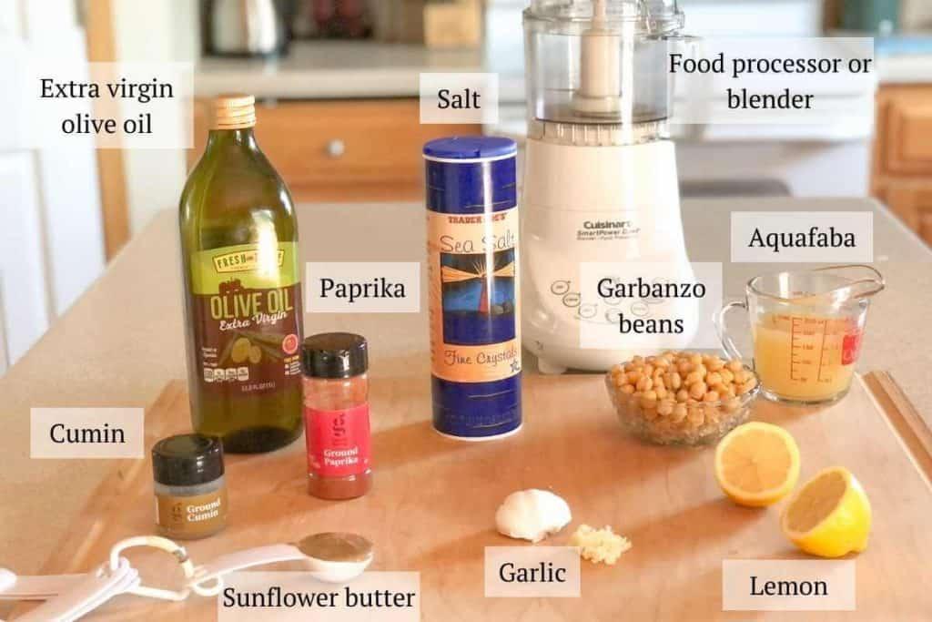 Gluten free hummus ingredients