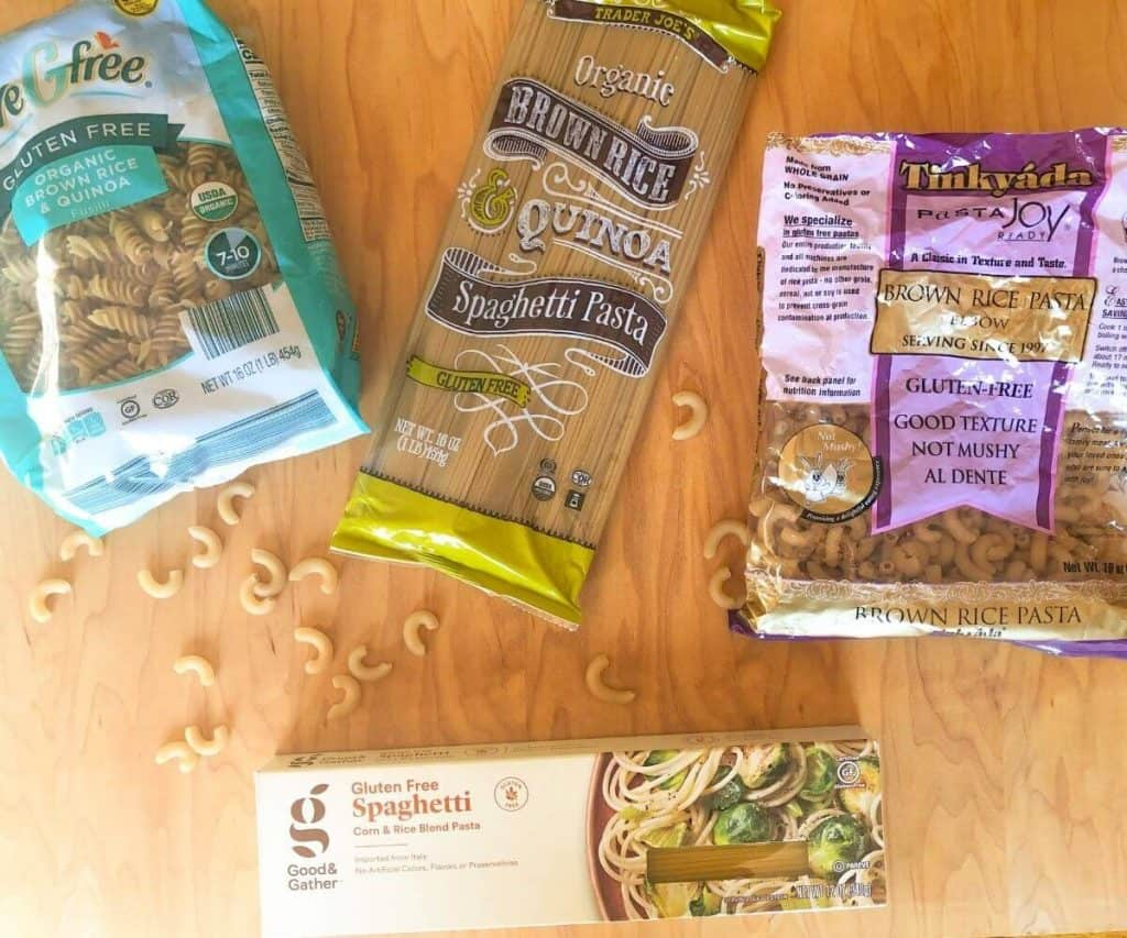 Gluten free whole grain pasta brands
